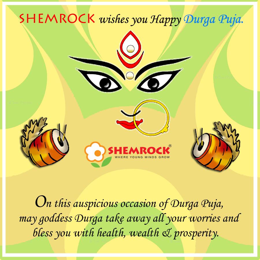 Happy Durga Puja Navratri Jai Mata Di Durga Puja