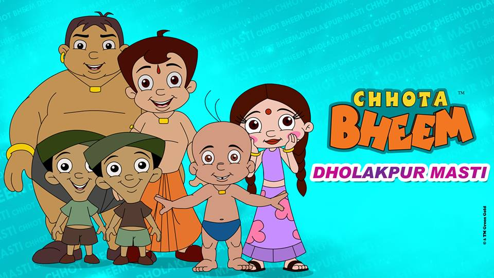 Watch the adventures of #ChhotaBheem and Friends
