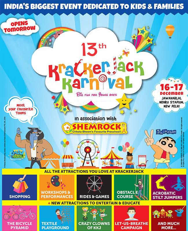 Krackerjack Karnival in Delhi