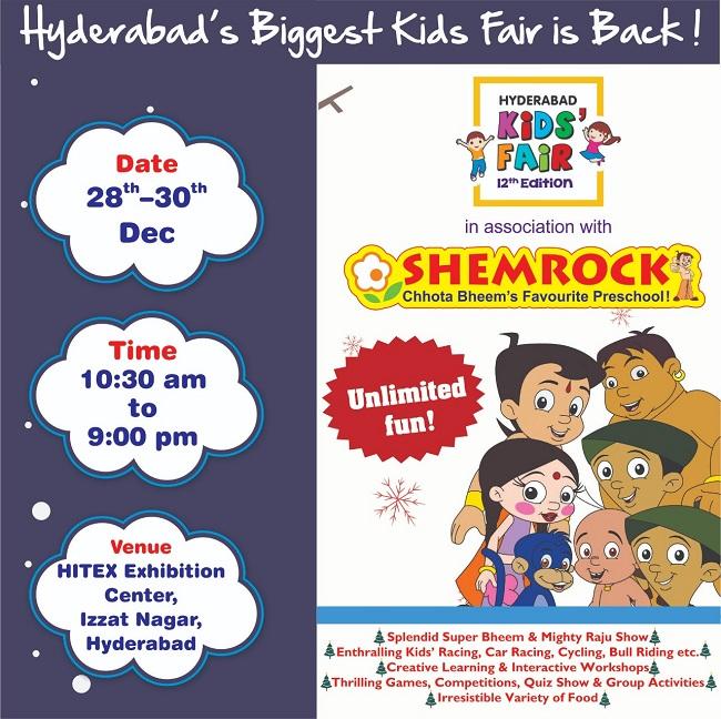 Hyderabad Kids Fair 2018