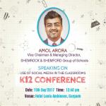 K12 Conference, Gurgaon 2017